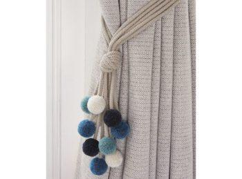 How to make Curtain Tie Backs  Inhabit Zone