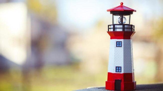 How Build Garden Lighthouse