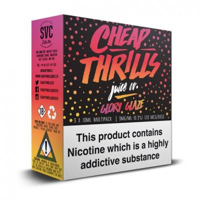 Glory Glaze - 3 x 10ml TPD Compliant Multipack by Cheap Thrills