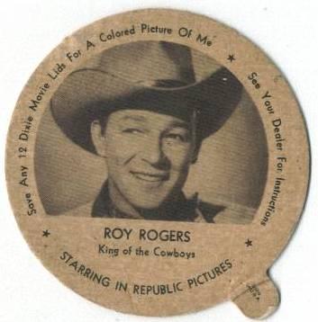 1943 Roy Rogers Dixie Lid