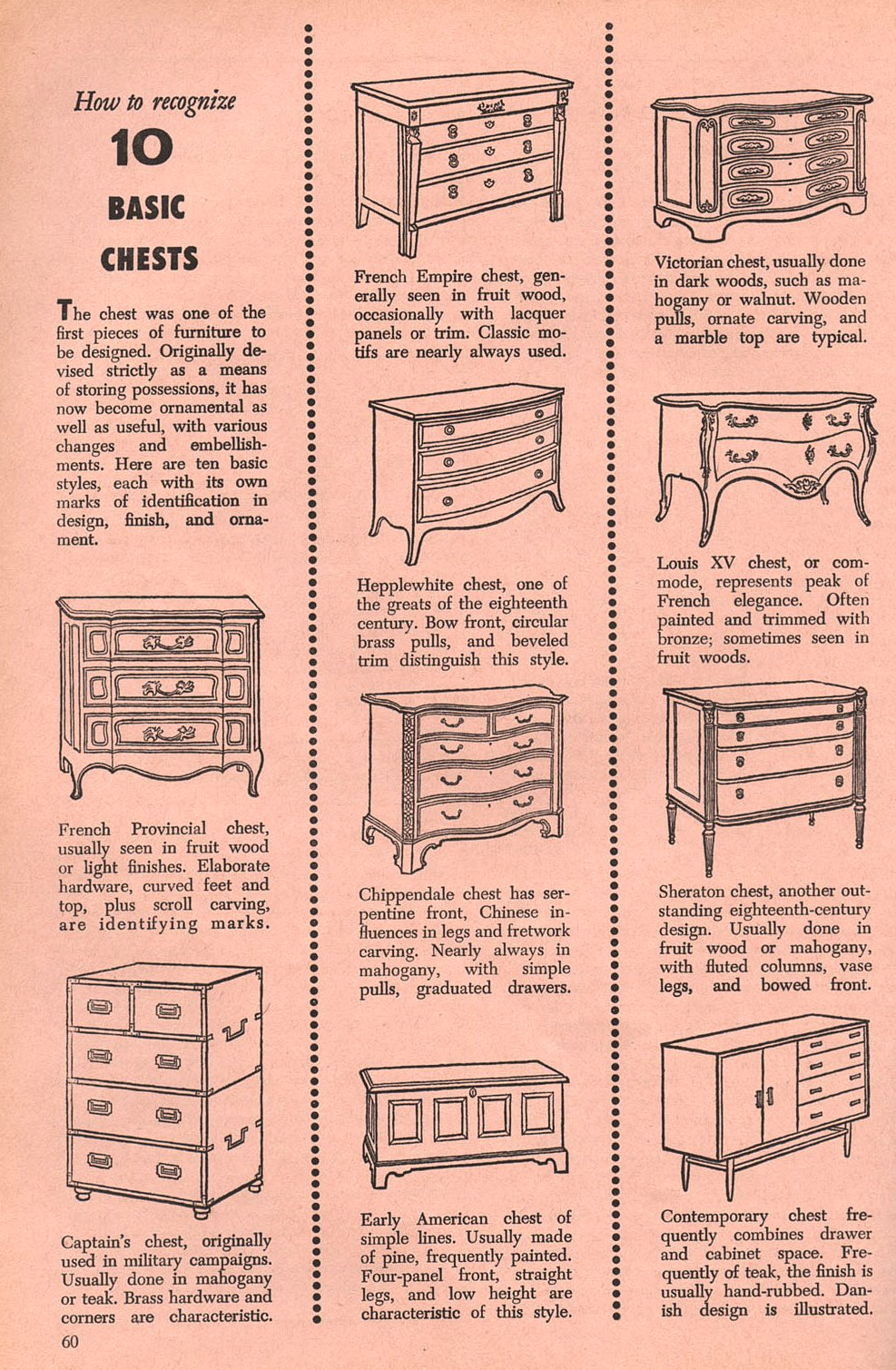 identifying antique dresser styles Tips On Identifying 10 Vintage & Antique Chests – Inherited Values identifying antique dresser styles
