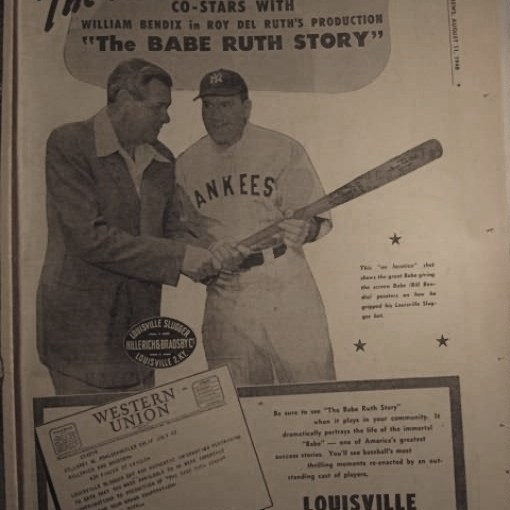 The Final Days of Babe Ruth as Covered in The Sporting News