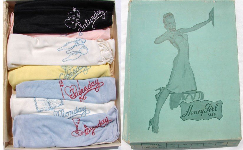 Lingerie Collecting: No Drawers For Your Vintage Drawers