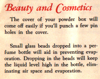 Vintage Beauty & Cosmetic Tips Explain Vanity Collectible Conditions