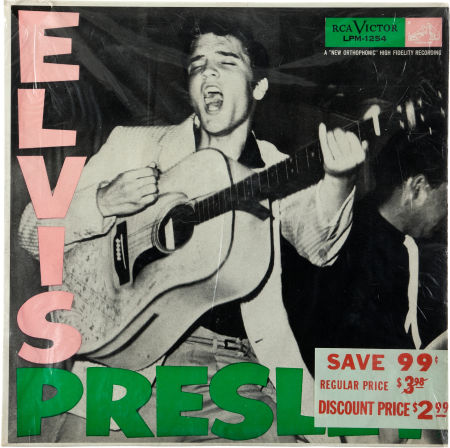 Elvis Presely Memorabilia & Signature Auction