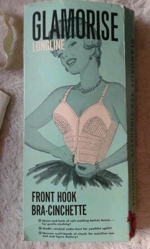 Vintage Illustrated Lingerie Boxes