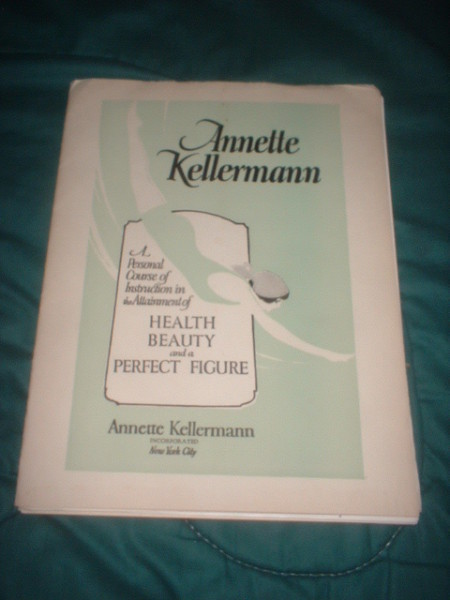 vintage health beauty perfect figure course by silent film star annette kellermann