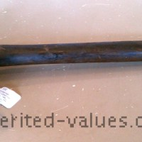 Antique Logging Stamp Hammer