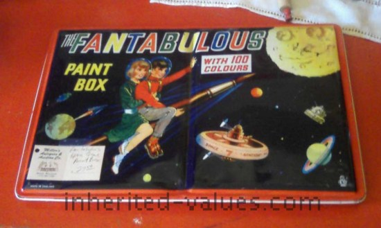 fantabulous paint box vintage
