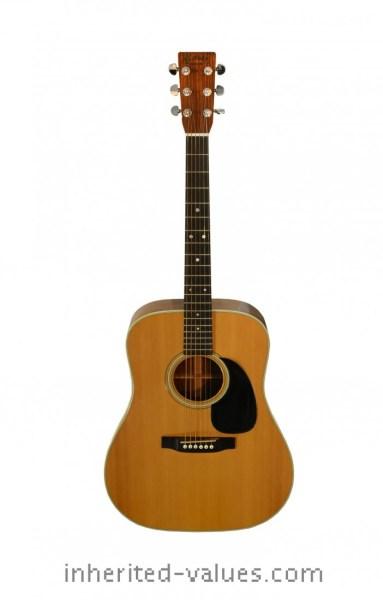 elvis Martin D-28 guitar