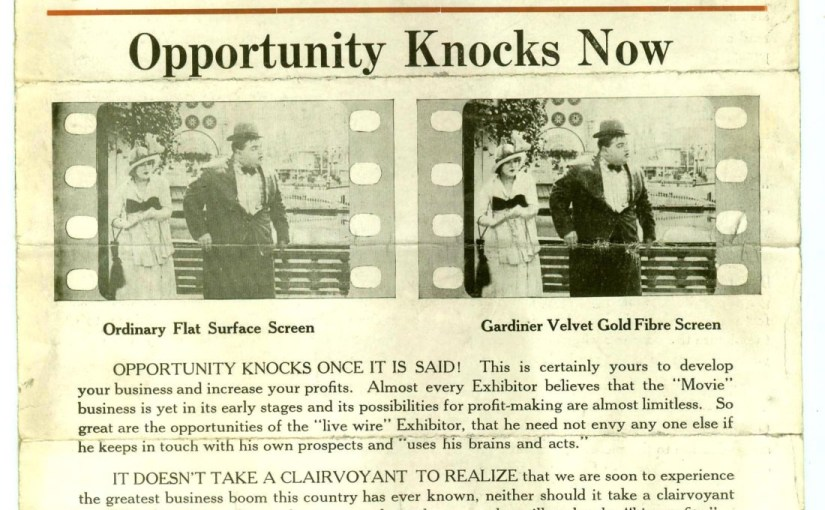 History Of The Silver Screen