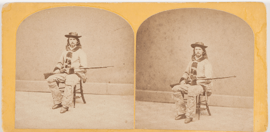 early antique buffalo bill photographs