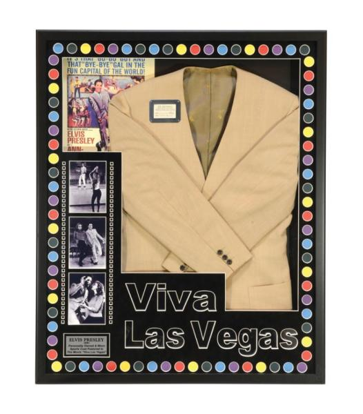 Elvis Presley Jacket from the Viva Las Vegas Dance Scene with Ann-Margret