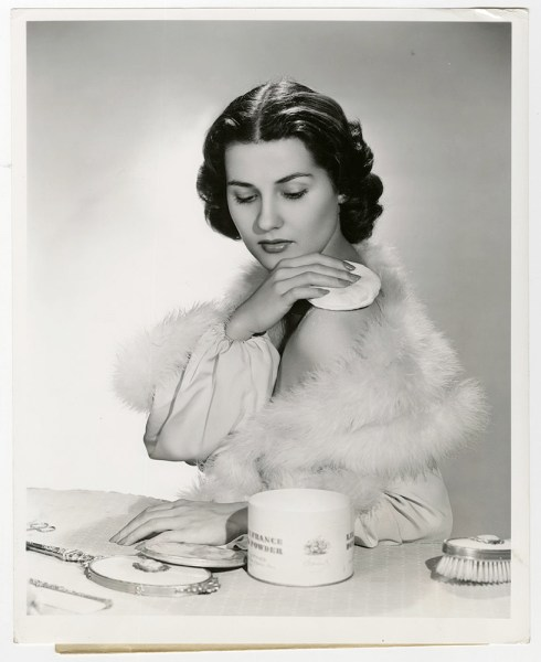 brenda marshall powder puff vanity vintage photo by scotty welbourne