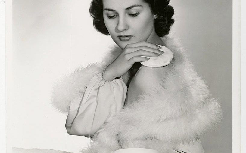 Vintage Warner Brothers Studio Cosmetic Photo Featuring Brenda Marshall