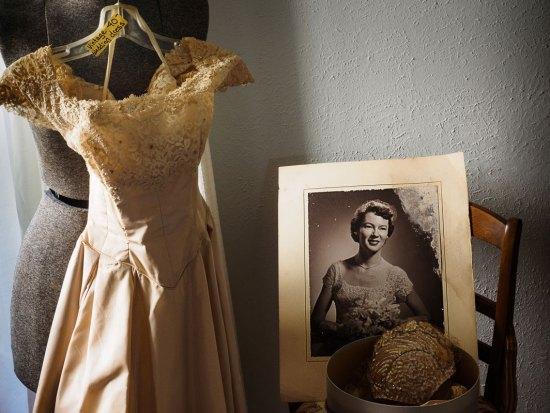 norm diamond brides dress and photo