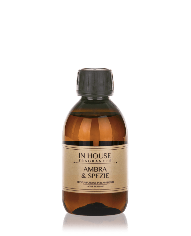 Ambra & Spezie - Ricarica Profumo 200 ml - In House Fragrances