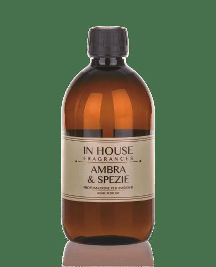 Ambra & Spezie - Ricarica Profumo 500 ml - In House Fragrances