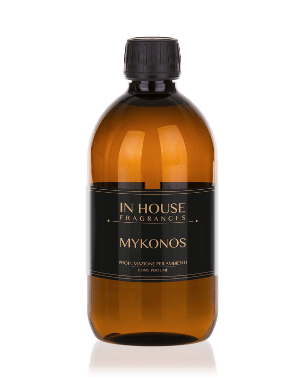 Mykonos - Ricarica Profumo casa 500ml - In House Fragrances Linea Premium - Gida Profumi