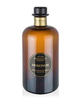 Mykonos - Diffusore vetro 500ml - In House Fragrances Premium