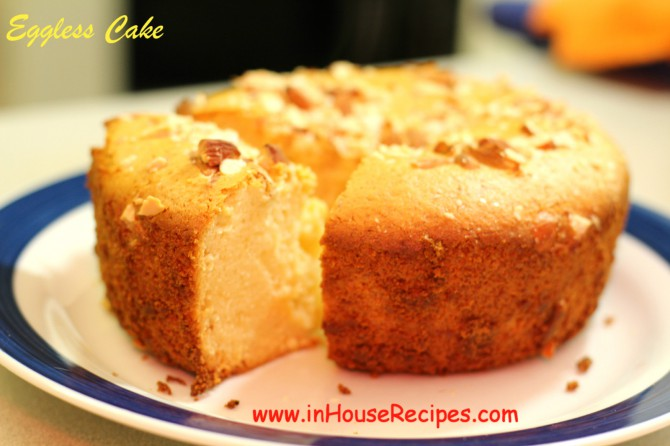 Eggless Cake In Oven Or Microwave Convection Inhouserecipes