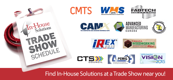 In-House Fall 2015 Trade Show Schedule | In-House Solutions