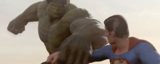 Superman vs Hulk - The-Fight, veja no Iniciativa Nerd