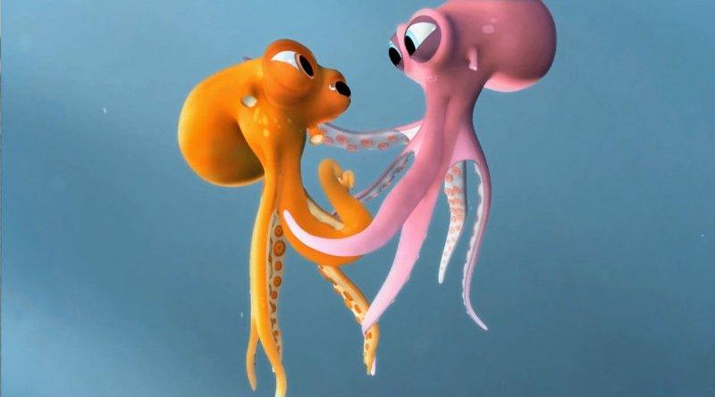Oktapodi - um curta sobre o amor, com polvos!Oktapodi - um curta sobre o amor, com polvos!