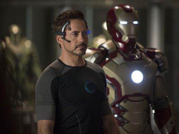 Homem de Ferro 3 - Tony Stark e armadura