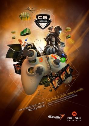 CG Extreme Dois dias do melhor do entretenimento digital no Brasil