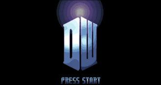 Como seria um jogo de rpg de 16 bits de Dr. Who?