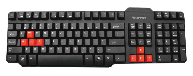 Leadership Teclado Gamer Easy 6772 iniciativanerd