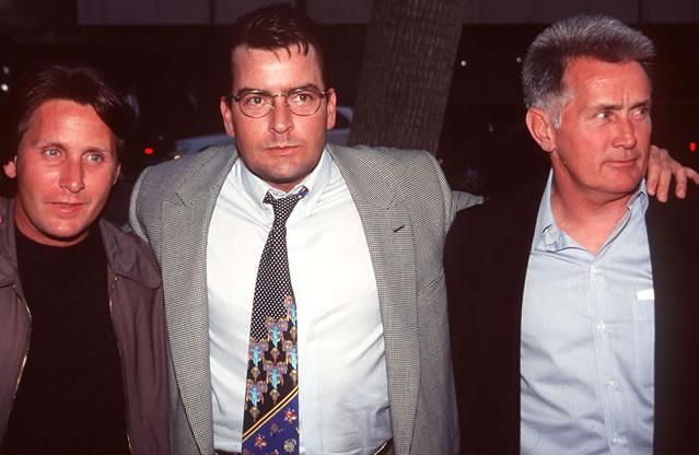 A família Sheen... digo, Esteves, reunida