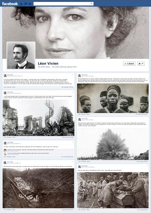 Facebook 1914: Primeira Grande Guerra