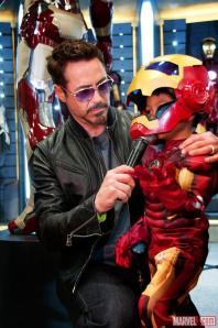 Robert Downey Jr e um fã do enlatado