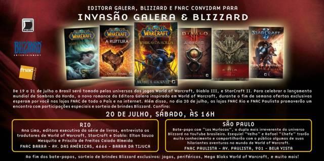 Galera Record organiza evento da Blizzard