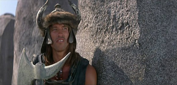 Conan ora para Crom