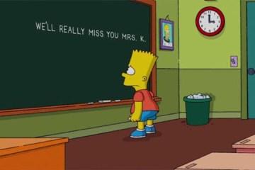 Os Simpsons: tributo à morte de dubladora retira personagem da série