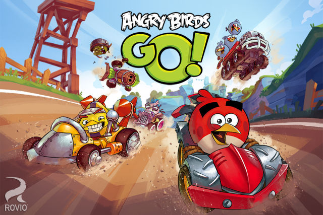 Rovio lança novo game: Angry Birds Go!