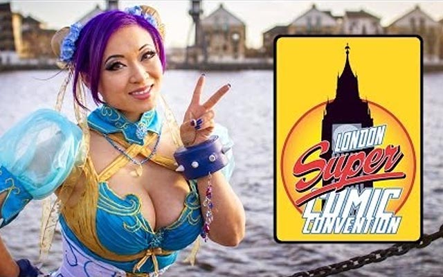 Incríveis cosplayers na London Super Comic Convention