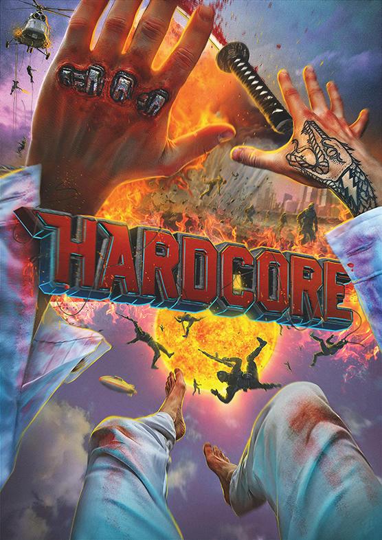 Hardcore o primeiro filme de ação em primeira pessoa