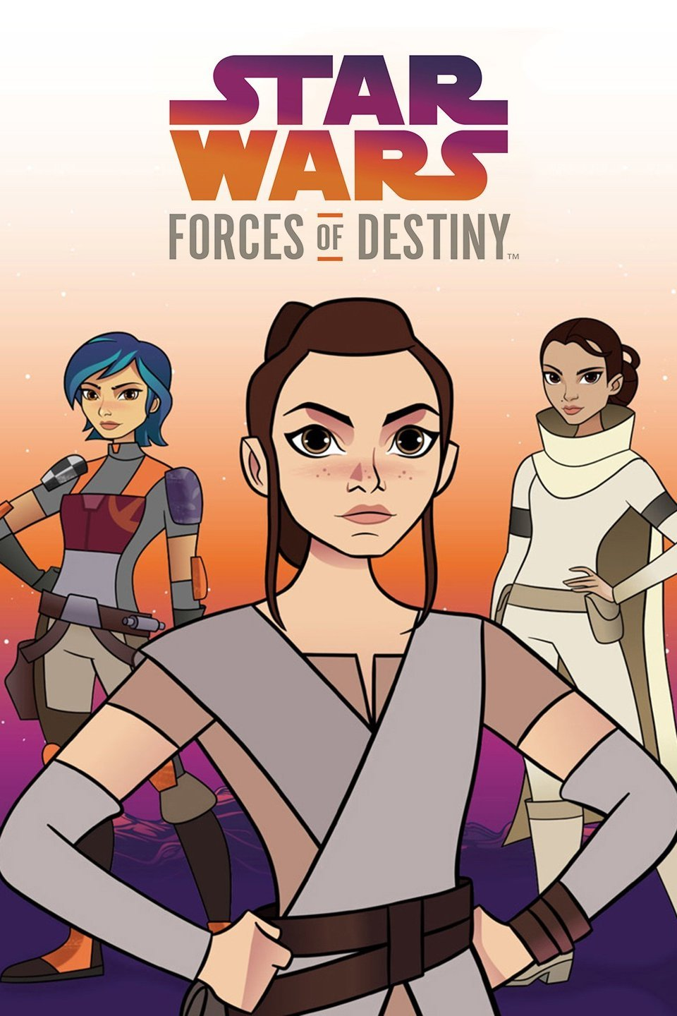 Poster de Star Wars: Forces of Destiny