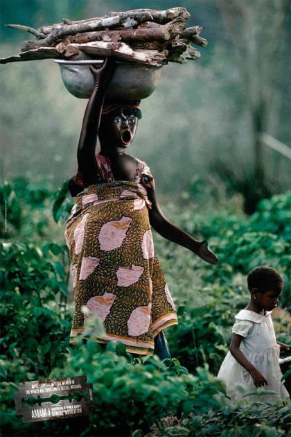 Cartel contra la mutilación genital