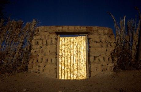 Obra Poema del desierto de Pamen Pereira en Artifariti 2007