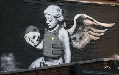 Imagen de la plantilla de Banksy