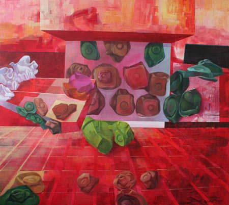 Pintura de Teresa Casanueva