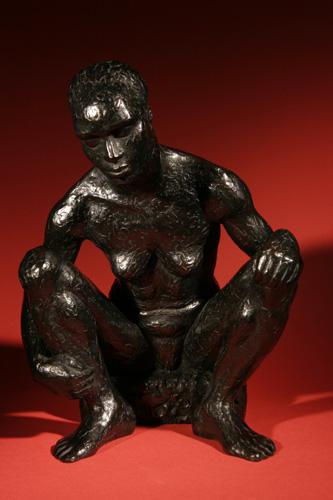 Escultura de Sandrine Follère