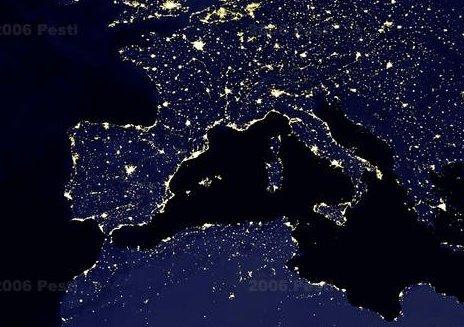El mediterraneo de noche
