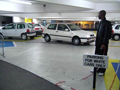 Imagen del Parking para blancos de Helmut Smits