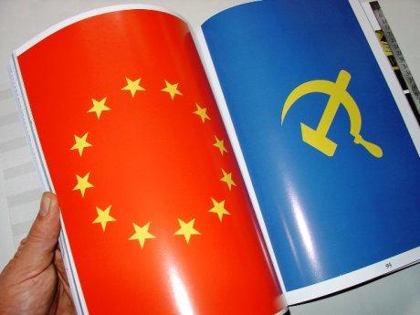 Banderas de Vlad Nanca en la revista Nolens Volens